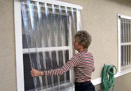 Tampa Clear Hurricane Shutters Panels, Hurricane Protection Products