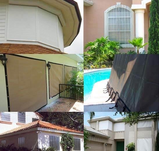 Madeira Beach Hurricane Protection Wind Screens Storm Shutters Panels