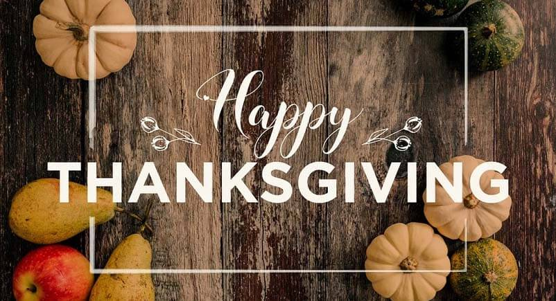Happy Thanksgiving 2019 from Home Safety Solutions