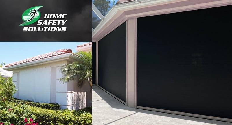 Fabric Wind Screen Panels Tampa Installs