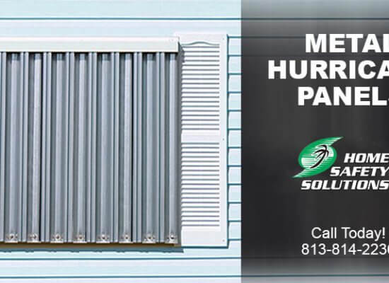 Get Maximum Protection with Metal Hurricane Panels