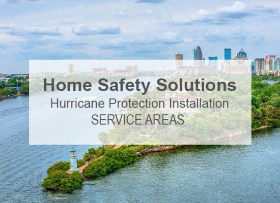 Home Safety Solutions Service Areas