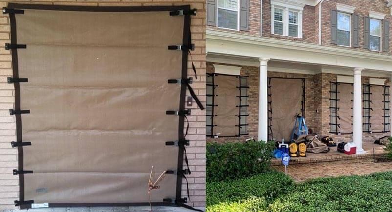 Pinellas County Home Hurricane Screen Installation